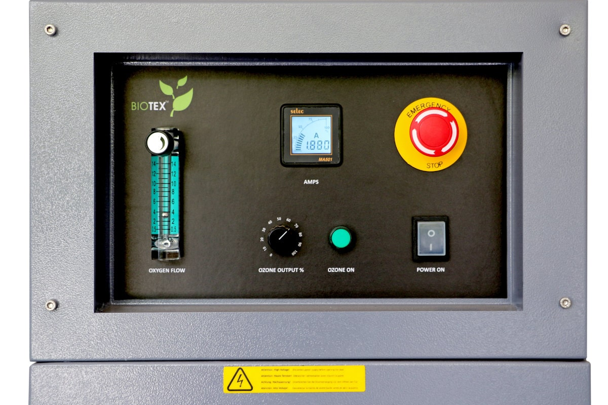 An image of Biotex's Industrial Ozone                                 generator